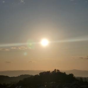 毎朝東を見るだけで幸せになれる気する