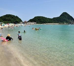 城崎エリア最寄りの海水浴場は竹野浜です