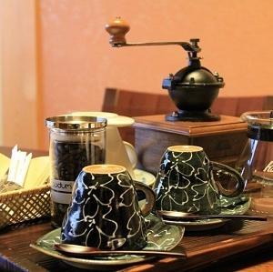 お部屋で楽しむ!コーヒーミルで挽きたてコーヒー♪