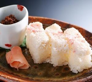 銀花の蟹寿司