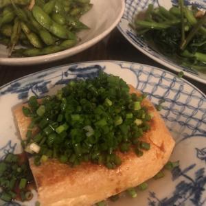 緑色すぎる晩ご飯