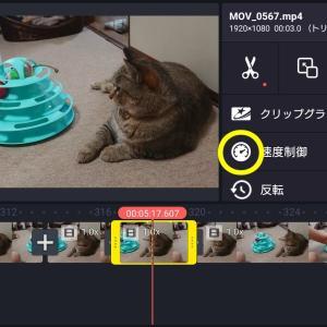 【2020年版】動画編集アプリキネマスターで倍速&スロー再生させる方法