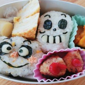 クリームパンダとホラーマン弁当【週6000円台ごはん】