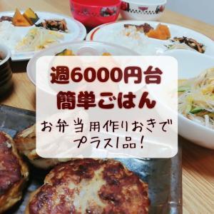 大豆の水煮からひじきやら白味噌まで【週6000円台ごはん】