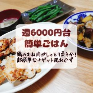 しっとり!柔らか!鶏むね肉のメインおかず【週6000円台ごはん】