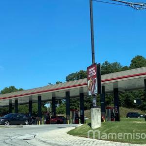 アメリカのガソリンスタンドで給油してみた