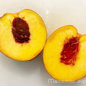 アメリカ、ジョージア州名産の黄桃を食べてみた