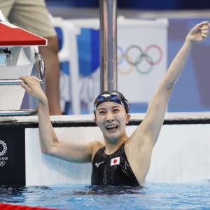 【ひこにゃん】【To】【競泳】日本の先駆者へ! 2冠女王・大橋悠依に「選手」と「モデル」の〝二刀流〟熱望の声