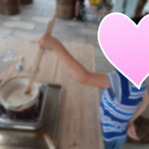 5歳0ヶ月 お塩の作り方を学ぶ