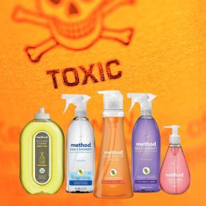 クリーンなブランド「Method」の掃除用品が有毒とのことでアメリカで訴訟中
