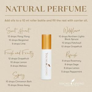 精油とキャリアオイルだけで作るシンプル香水レシピ