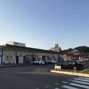【2018.10.24-26 徳島ライブとオトナの工場見学③】JR鳴門駅舎とホームにて