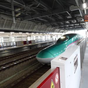 【東北の旅2019年夏 [3日目]その22】(2019/7/28)北海道新幹線で奥津軽いまべつ→新函館へ
