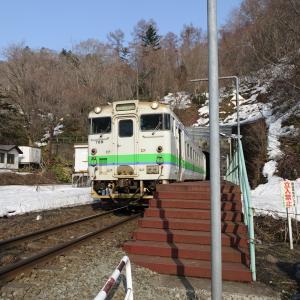 JR北海道フリーパスの旅(2018.3.27)2日目 その9~3年ぶりの小幌駅訪問
