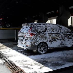 2か月ぶりの洗車