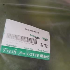 マンゴーが安くなってきた