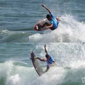 【東京オリンピック】サーフィンの試合が始まりました。