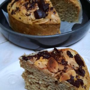 【アスリートスィーツ】砂糖なしバナナと紅茶のケーキ