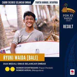 PON Papua 2021(インドネシアスポーツイベント)に参戦