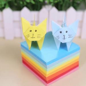 簡單折紙 動物 可愛的小貓