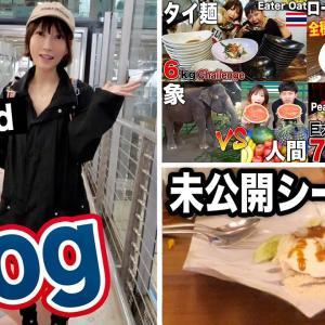 美味しいご飯、屋台飯食レポ、可愛い動物、ショッピング、お土産紹介…タイ最高!!![vlog][10kg][17000kcal]【木下ゆうか】