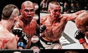 """"""" THE BLOODIEST FIGHT IN UFC HISTORY! (2018) RORY MCDONALD VS ROBBIE LAWLER!"""