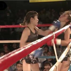 【キックボクシング】止まらないパンチの嵐!!高梨knuckle美穂選手の圧倒的な強さを見よ【KO】