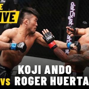 Koji Ando vs. Roger Huerta   ONE Championship Full Fight   September 2015