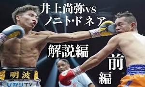 井上尚弥 vs ノニト・ドネア 完全解説 前編 ボクシング