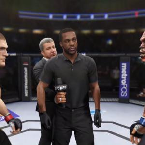 Khabib vs. Demon (EA Sports UFC 2) – Champion Fight ☝️🦅