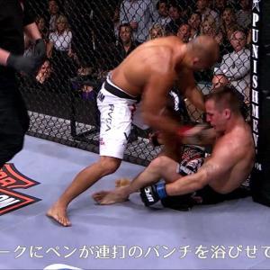 【UFC】今週のイチオシKO:B.J.ペン vs. ショーン・シャーク