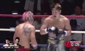 【Knockout scene Part.46】Fukashi VS Hiroaki Suzuki【衝撃KO】不可思 対 鈴木博昭