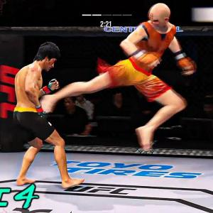 UFC 4   Bruce Lee vs Krillin    EA SPORTS UFC 4