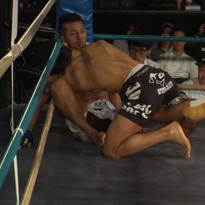 #shooto1217-6 よしずみ(SHOOTOGYM K'zFACTORY) vs ケンジ(K O SHOOTO GYM)