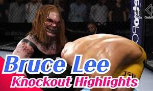 UFC Bruce Lee knockout highlights
