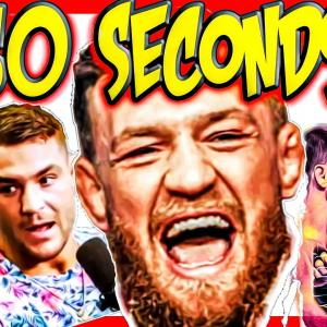 🔴 CONOR MCGREGOR PREDICTS 60 SECOND KO OF DUSTIN POIRIER + JAMES LYNCH LIVE + MMA NEWS!
