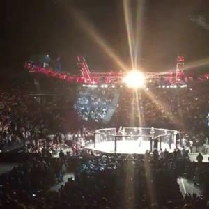 【UFC JAPAN 2014】UFC Fight Night 52 Hunt vs. Nelson Hunt Entrance scene