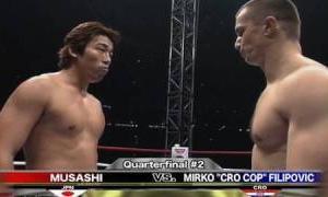 Musashi vs. Mirko CroCop – K-1 GP '99 FINAL