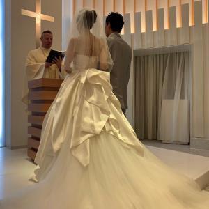 今日も結婚式のご報告をいただきました!