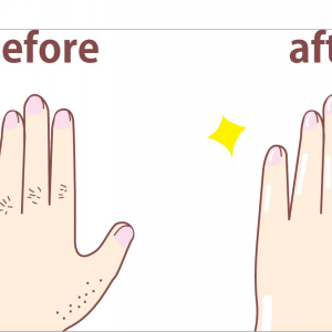 指毛処理してますか?:指毛の処理方法を考える!