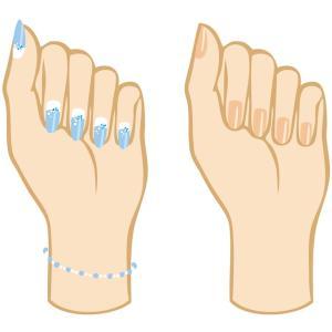 爪を痛めないポリッシュリムーブの方法