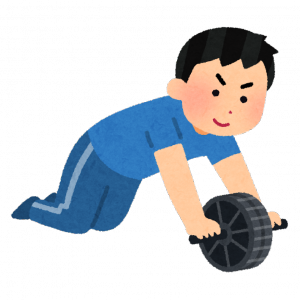 筋トレって腹筋ローラー、懸垂、スクワットだけで充分だよな