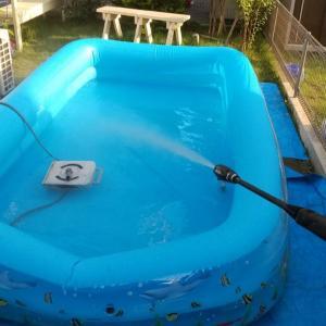 裏技! プールの水再利用方法