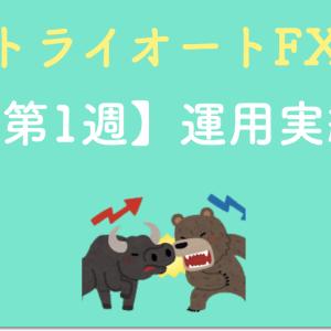 【コツコツ稼ぐ】トライオートFXの設定と実績を公開(第1週目)