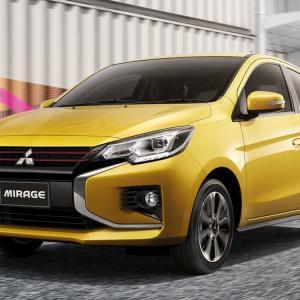三菱「新型ミラージュ」日本発売が4月16日?実車が日本国内で発見される!