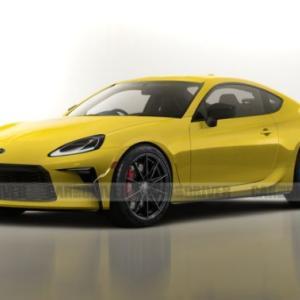 スバル「新型BRZ」一部デザインを公開!今秋発表でトヨタ「86」と共に来秋発売?