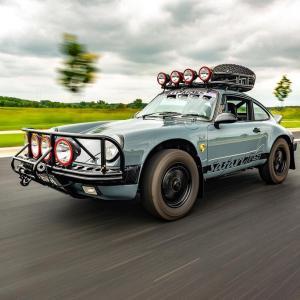 ポルシェ「911」もSUV派生?伝説のラリー仕様Safariを展開か?テストカーを発見!