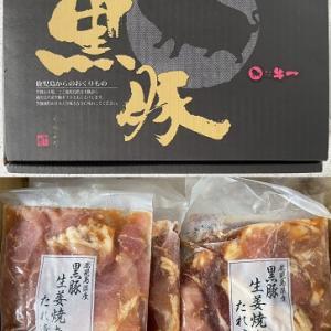 一銘柄売却と美味しい優待~黒豚生姜焼き~
