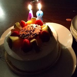 相方の誕生日