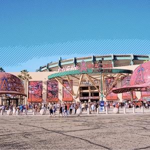 【LAエンゼルスタジアム】大谷選手観戦&顔パネルの購入方法も伝授😇